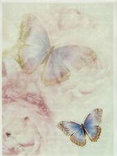 Printed Translucent / Vellum Scrapbook  Paper A/4 Butterflies