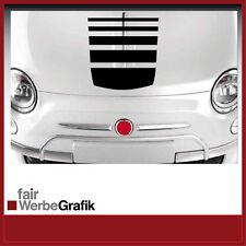 Aufkleber /  Sticker / Dekor / Motorhaubenstreifen /  Fiat 500  / #045