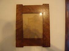 Qtr sawn oak mission picture frame 8x10 mission frame tapered sides