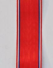 Ruban de la médaille de Verdun 1916, 14 cm,  tissage ancien
