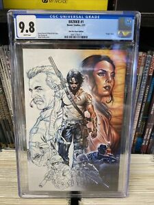BRZRKR #1 Boom! Studios CGC 9.8 Mark Brooks One-Per-Store Variant 1 Day Auction