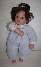 2000 Lee Middelton Reva Jointed Stuffed Cloth Body Thumb Sucker Baby Doll 020400