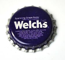 Coca-Cola Welch Sparkling grape soda capsules USA BOUTEILLE caps