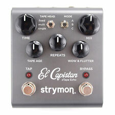 Strymon El Capistan Delay V2 dtape Echo New guitar effect pedal