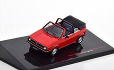 Vw volkswagen golf i cabriolet convertible cls 1981 red ixo clc353n 1/43 mki
