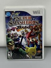Super Smash Bros. Brothers Brawl - Nintendo  Wii Game Complete With Manual