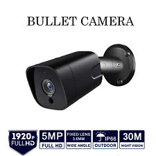 5MP BULLET CCTV CAMERA 4IN1 1920P Ultra HD 30M IR NIGHT VISION OUTDOOR