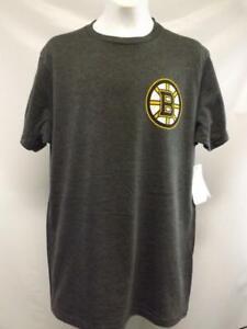 New Boston Bruins Mens Sizes S-2XL Gray G-III Shirt