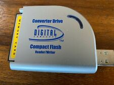 Digital Concepts  PCMCIA Compact FlashCard Reader  USB Adapter with 256MB card