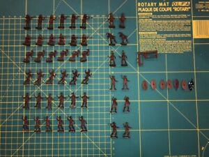 Esci 1/72 Scale Vintage Zulu War Zulu Warriors Figures [213] Near Complete Set