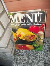 Menü: Das große moderne Kochlexikon, Band 1, A-Bri