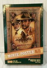Indiana Jones and The Last Crusade Movie Poster 500 Piece Puzzle - Used Complete
