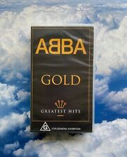 Abba Gold Greatest Hits VHS NEW & SEALED!