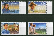 Griechenland 2112 - 2115 ** Greece stamp Scout Motiv Pfadfinder 2002 postfrisch