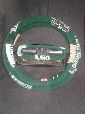 MIAMI HURRICANES FLEECE STEERING WHEEL COVER SET