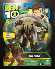 BEN 10 VILGAX FIGURE VIL ALIEN WARLORD VILLAIN SQUIDFACE SOURPUS CARTOON NETWORK