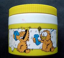 Vintage Garfield The Cat Yellow Thermos Brand Insulated Jar Model 1155/3