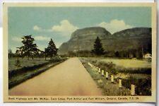 Scott Highway, Mt McKay, Twin Cities Ontario,  Canada Postcard B617