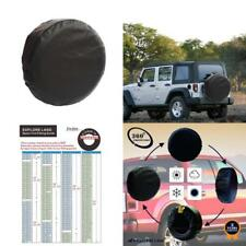 Explore Land 26-27.75 Inch Spare Tire Cover Fit Jeep Trailer Rv Suv Truck Tough