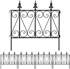 "24""x10' Rustproof Metal Wire Folding Garden Fence Outdoor Landscape Border Edge"