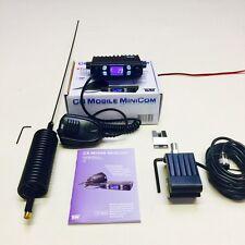 TEAM CB Funkgerät Mini com Starter Set + Stachel Antenne & Dachrinne MNT