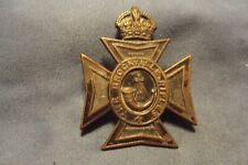 WW II/Pre WW II Canadian Cap Badge To The Brockville Rifles