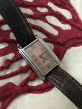 Tiffany & Co. Tiffany Grand Copper Face Ladies Watch With Alligator Band