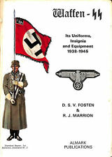 Waffen-Ss: Its Uniforms, Insignia And Equipment, 1939-45 by Fosten, D.S.V.; Marr