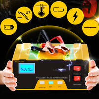 12V/24V Auto Car Charger 100AH Pulse Repair Type For Lead Acid Lithium Battery