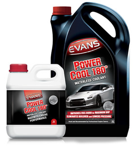 EVANS PowerCool 180 Waterless Engine Coolant Race Rally Drift Track 2L Litres