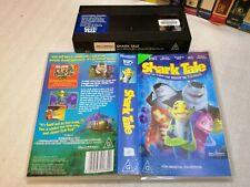 SHARK TALE (2004) - Rare Australian Dreamworks Issue on Vhs - ANIMATION