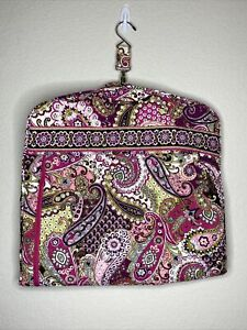 Vera Bradley Very Berry Pattern Garment Bag Travel Quilted Pink Paisley