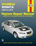 Haynes Workshop Manual Hyundai Sonata 1999-2014 Service & Repair