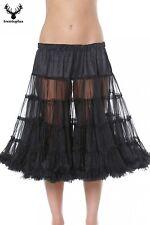Trachten Petticoat 60cm 460 schwarz