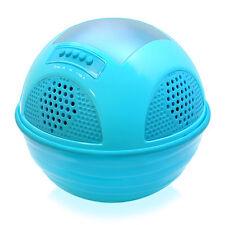New PWR95SBL Floating Waterproof Speaker/FM Radio /SD/Solar-Rechargeable Battery