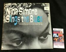 NINA SIMONE HAND SIGNED AUTOGRAPHED WITH HEART AT ALL TIMES RECORD/ALBUM JSA/COA