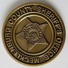 MECKLENBURG VIRGINIA VA SHERIFF'S OFFICE PERFECT ATTENDANCE COIN