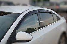 For Chevrolet Cruze Sd 2009-2015 Side Window Visors Sun Guard Vent Deflectors
