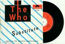 the WHO Substitute / Waltz for a Pig (1966) DUTCH PS NEAR MINT VINYL SINGLE 7""