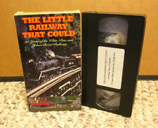 YUKON ROUTE Little Railway That Could VHS White Pass railroad travel video