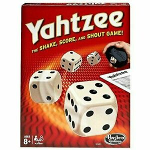 Yahtzee Classic Board Game for Kids Toys Traditonal Hobbies NEW