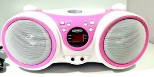 Jensen Portable Stereo Compact Disc Player with AM/FM Radio Model CD-490