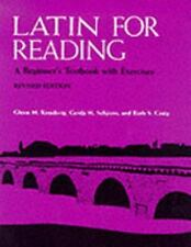 Latin for Reading: A Beginner's Textbook with Exercises, Seligson, Gerda,Craig,