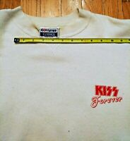KISS Forever promotional sweatshirt + Hot In The Shade 1989 Mercury Kulick Carr