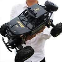 4WD RC Monster Truck Off-Road Vehicle 2.4G Remote Control Buggy Crawler Car F