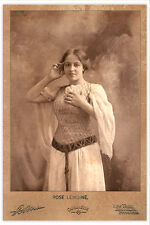 ROSE LEMOINE French Actress Beauty Vintage Photograph A+ Reprint Cabinet Card