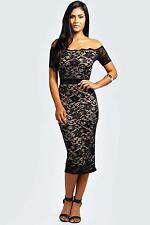 Boohoo Polyester Short Sleeve Dresses for Women