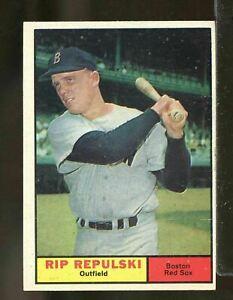 1961 Topps Baseball #128 RIP REPULSKI EXMT *Boston Red Sox (DC10)