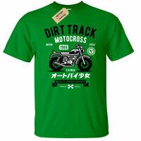 Dirt Track Motorcross T-Shirt Mens