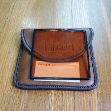 TIFFEN 85 4X4 Glass Filter Color Correct Square With Case Vintage Photrophy